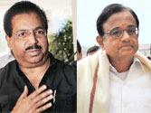 JPC chief P.C Chacko (left) and Home Minister P.Chidambaram