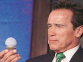 Arnold Schwarzenegger, the green crusader