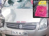 Cleaner takes babu's car for joyride, mows down 2