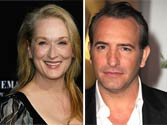 Streep, Dujardin earn top honours at Oscars