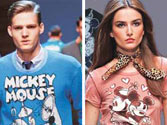 Fashion line inspired by Mickey and Minnie to debut at LFW