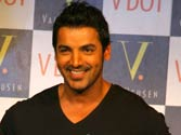 Lean John Abraham decides to cover up