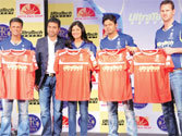 IPL: Shilpa Shetty launches jersey of Rajasthan Royals