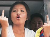 Tibetans hold protests as Chinese President arrives in Delhi