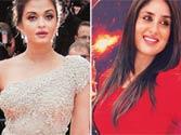 Kareena Kapoor and Aishwarya Rai-Bachchan to walk red carpet at Cannes