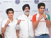 Boxers are versatile now, says Sandhu