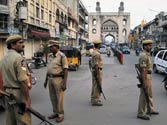 Riots force indefinite curfew in parts of Hyderabad