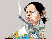 From the mag: Mamata Banerjee and looney toons