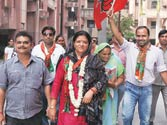 'Strongwomen' in MCD poll stakes