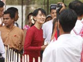 Myanmar polls: Opposition claims Aaung Suu Kyi's win