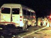28 killed in bus accident on Mumbai-Pune expressway