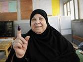 Egyptians turn up to elect Mubarak's successor