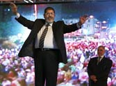 Muslim Brotherhood advances to second round in Egyptian presidential poll