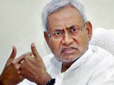 Upset villagers attack Nitish