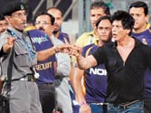 Vikas Dalvi (left) and Shah Rukh Khan