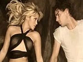 Shakira tantalises in steamy video