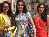 Manyata, Malaika attend Shilpa