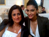 Sonam ready for Cannes red carpet