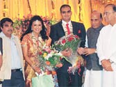 BJP top brass attend B.S. Yeddyurappa kin's wedding in Bangalore