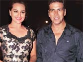 Quiet <em>Rowdy Rathore</em> success bash for Akki & Co