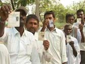 80 per cent voting in crucial Andhra bypolls