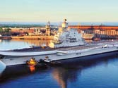 Heavyweight 'INS Vikramaditya' goes on trial run