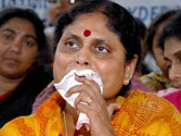Jagan Mohan Reddy's mother woos voters in Telangana to gain a foothold in the region