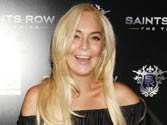 Lindsay Lohan in good spirits after health scare