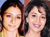 Tabu refuses to be second to Madhuri Dixit