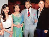 Kareena, Pataudis attend lunch in Tiger's honour in London