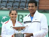 After French Open, Sania and Bhupathi eye Olympics glory