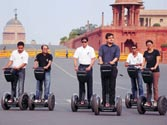 Segway ride to seat of power
