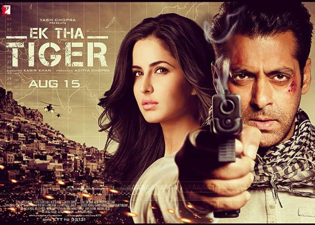 Image result for ek tha tiger poster