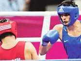 Boxers leave for Ireland to feel London weather