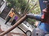 Delhi Jal Board tankers keeping Vasant Vihar residents afloat