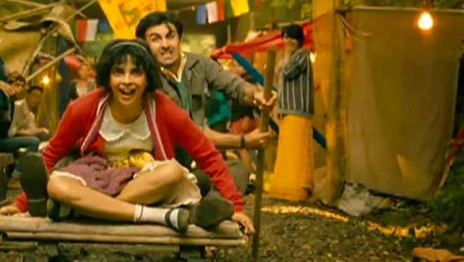 A still from the upcoming film Barfi