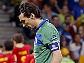 Euro 2012: Italy players wept in changing room, says Buffon