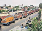 Economic slowdown hits trucking business