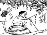 Cartoon row: NCERT junks Thorat panel