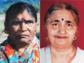 Shanti Devi and Resham Rani