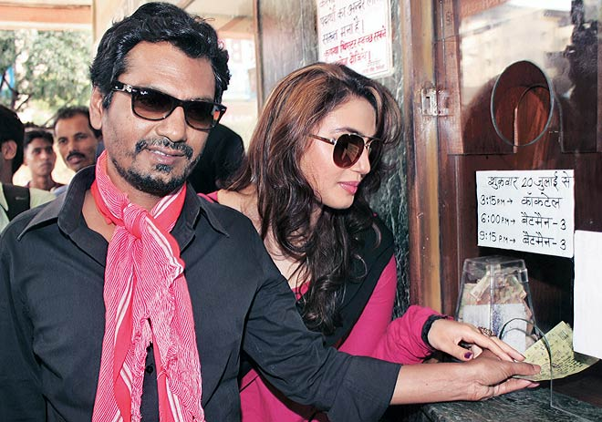 Huma Qureshi and Nawazuddin Siddiqui