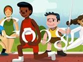 Google doodle celebrates London Olympics