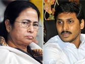 At odds with Congress, but both Jagan and Mamata decide to vote for Pranab