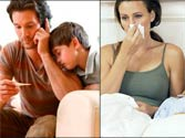 Physiological advantages of parenthood: Parents with more kids less likely to fall sick