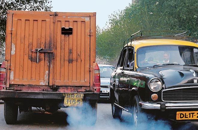 Diesel-guzzling passenger cars and trucks