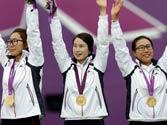 London Olympics: South Korea wins gold in women's team archery