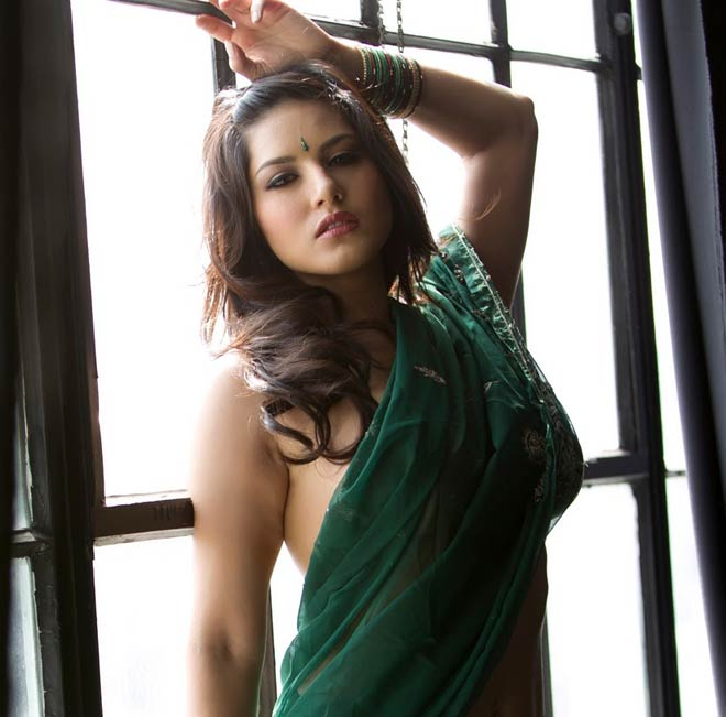 Sunny Leone Sex Picture With Saree-Penty Photo-3855