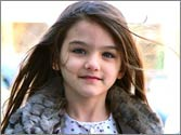 Suri Cruise named world's most stylish child