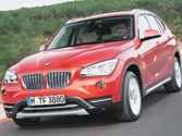 2013 BMW X1 is an attractive miniature truck