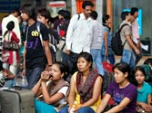 Hyderabad also sees exodus of people from North-East